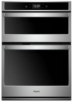 Whirlpool WOC75EC7HS Stainless Steel Electric Oven/Microwave Combo Oven,Double
